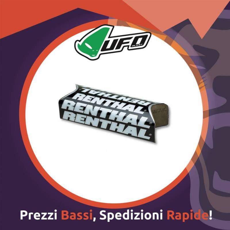 Paracolpo Manubrio Fatbar Pads Team Issue black Renthal per Motocross