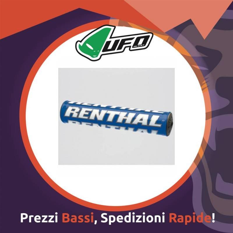Paracolpo Manubrio Bar Pads SX blue Renthal per Motocross