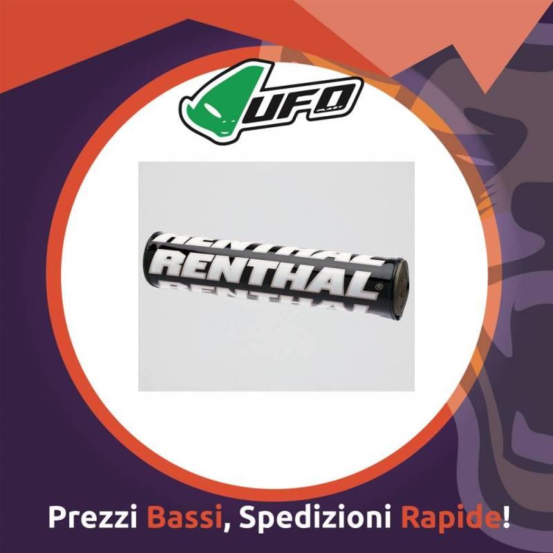 Paracolpo Manubrio Bar Pads SX black Renthal per Motocross