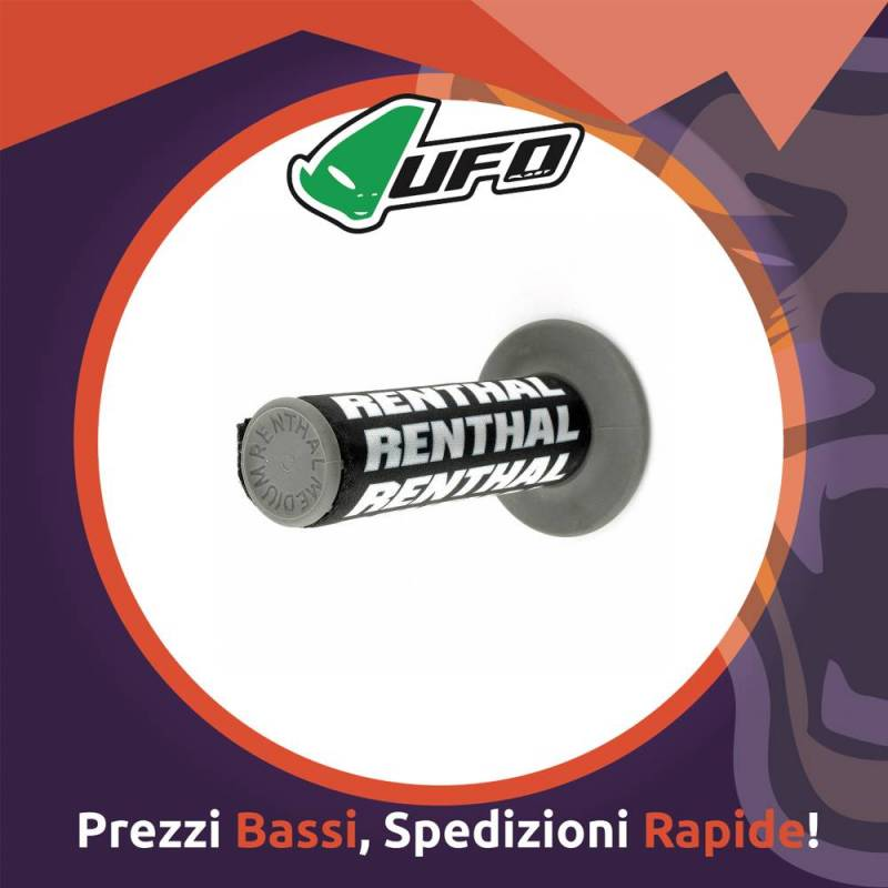 Manopola Renthal Clean Grip per Motocross