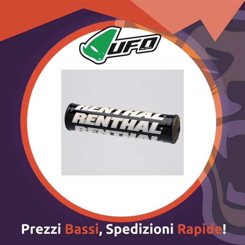 Paracolpo Manubrio Bar Pads trial black Renthal per Motocross