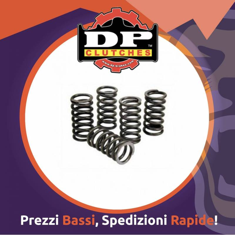KIT molle rinforzate DP CLUTCHES per YAMAHA YZ 125 dal 2005 al 2017 - Ricambio Motocross