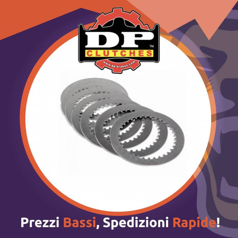 KIT interdischi in acciaio DP per BETA RR 450 dal 2005 al 2009 - Ricambio Motocross
