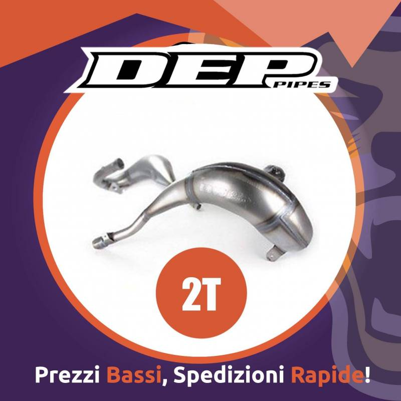 Marmitta motocross DEP 2 tempi per GAS GAS EC 250 dal 2007 al 2007