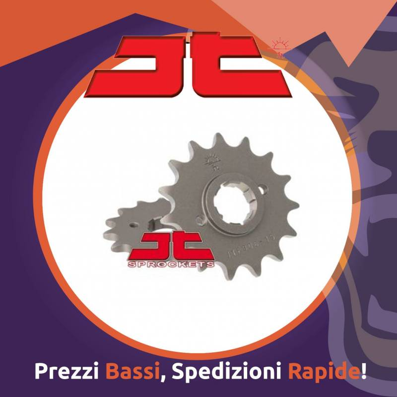 Pignone acciaio per MAICO 250 dal 1983 al 1987 Passo 520 Dente 14